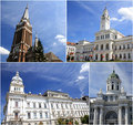 Tourism in Arad, Romania Royalty Free Stock Photos