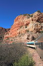 Tourism in Arizona/USA: Tourist Train in Verde Canyon Royalty Free Stock Photo