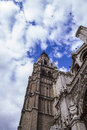 Tourism and travel cathedral of toledo imperial city spain Royalty Free Stock Image