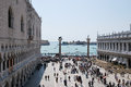 Tourism in Venice Royalty Free Stock Images