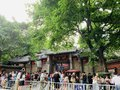 Tourist attractions, Chengdu Jinli, a lot of tourists come here to play. Royalty Free Stock Photo