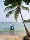 Beach in Hikkaduwa, Sri Lanka