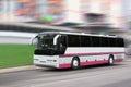 The tourist bus Royalty Free Stock Photo