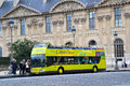 Tourist Bus in Paris, France Royalty Free Stock Image