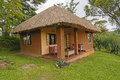 Tourist Cabin in Africa Royalty Free Stock Photo