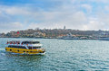 The tourist ferry Royalty Free Stock Photo