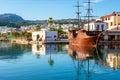 The Tourist Galleon In Rethymno