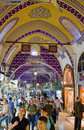 Tourist in Grand Bazaar (Grand Market) Stock Photography