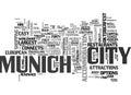 A Tourist Guide To Munich Word Cloud