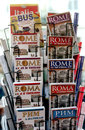 Tourist guides of Rome Royalty Free Stock Photo