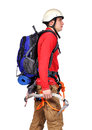 Tourist hiker Royalty Free Stock Photo