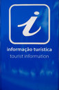 Tourist information sign Stock Images