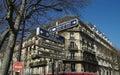 Tourist kennzeichnet innen Paris. Stockbild