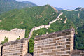 Tourist-spot at Great Wall of China Royalty Free Stock Photo