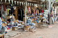 Tourist stall, Heritage Village, Abu Dhabi Royalty Free Stock Photo