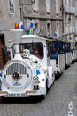 Tourist Trolley Car in Vannes France Stock Image
