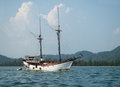 Tourist vessel in Krabi, Thailand Royalty Free Stock Photography