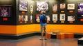Tourist visit Vietnam War Remnant Museum Royalty Free Stock Photo