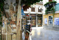 Touristic corner in Granada, Spain Stock Image