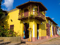 The touristic town of Trinidad in Cuba Stock Photography