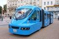 Touristic train zagreb croatia september on the ban jelacic square zagreb croatia Stock Images