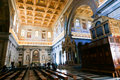 Tourists and believers in vatican city italy april Stock Image