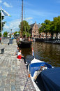 Tourists in Groningen Royalty Free Stock Images