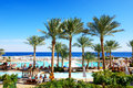 The tourists are on vacation at popular hotel sharm el sheikh egypt november november in sharm el sheikh egypt up to million Royalty Free Stock Images