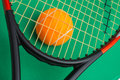 Tournois de tennis de gain Image stock