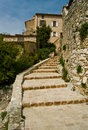 Tourrettes sur loup street details Royalty Free Stock Photo