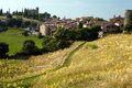 Tourtour village provence in the hills of southern france Stock Photography