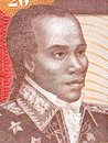 Toussaint Louverture portrait Royalty Free Stock Photo