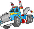 Tow Truck Illustration Stock Photo