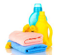 Towel and cleaning Stock Photography
