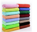 Towels in different color Royalty Free Stock Image