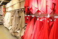 Towel supermarket retail store Royalty Free Stock Photo