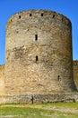 Tower at akkerman fortress in belgorod dnestrovsky city ukraine Royalty Free Stock Photo