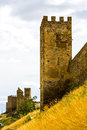 Tower of the ancient castle Royalty Free Stock Photography