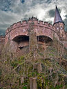Tower of ancient Marienburg, Germany Stock Images