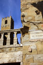 Tower in Arezzo - Italy Stock Photos