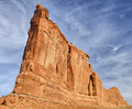 Tower of Babel and climbers Royalty Free Stock Photo