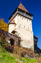 Tower of biertan medieval church romania one saxon settlements in transylvania with fortified landmark built in th th centuries Royalty Free Stock Image