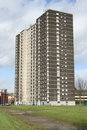 Tower block, Glasgow Royalty Free Stock Photo