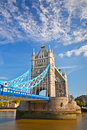 Tower Bridge in London Royalty Free Stock Image