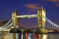 Tower Bridge of London Royalty Free Stock Image