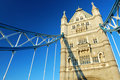 Tower Bridge in London City Stock Photography