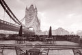 Tower Bridge in London, England, UK Royalty Free Stock Image