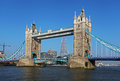 Tower bridge in london the historic Stock Photography