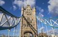 Tower bridge in london the magnificent architecture of Stock Photography