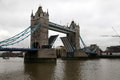 Tower bridge in london momument Royalty Free Stock Images